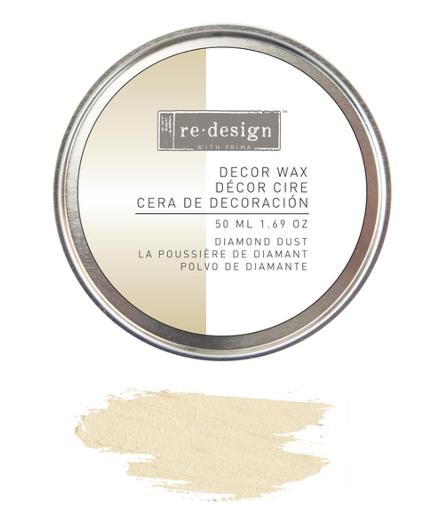 Prima Redesign Wax Paste 50ml - Diamond Dust (White Gold)