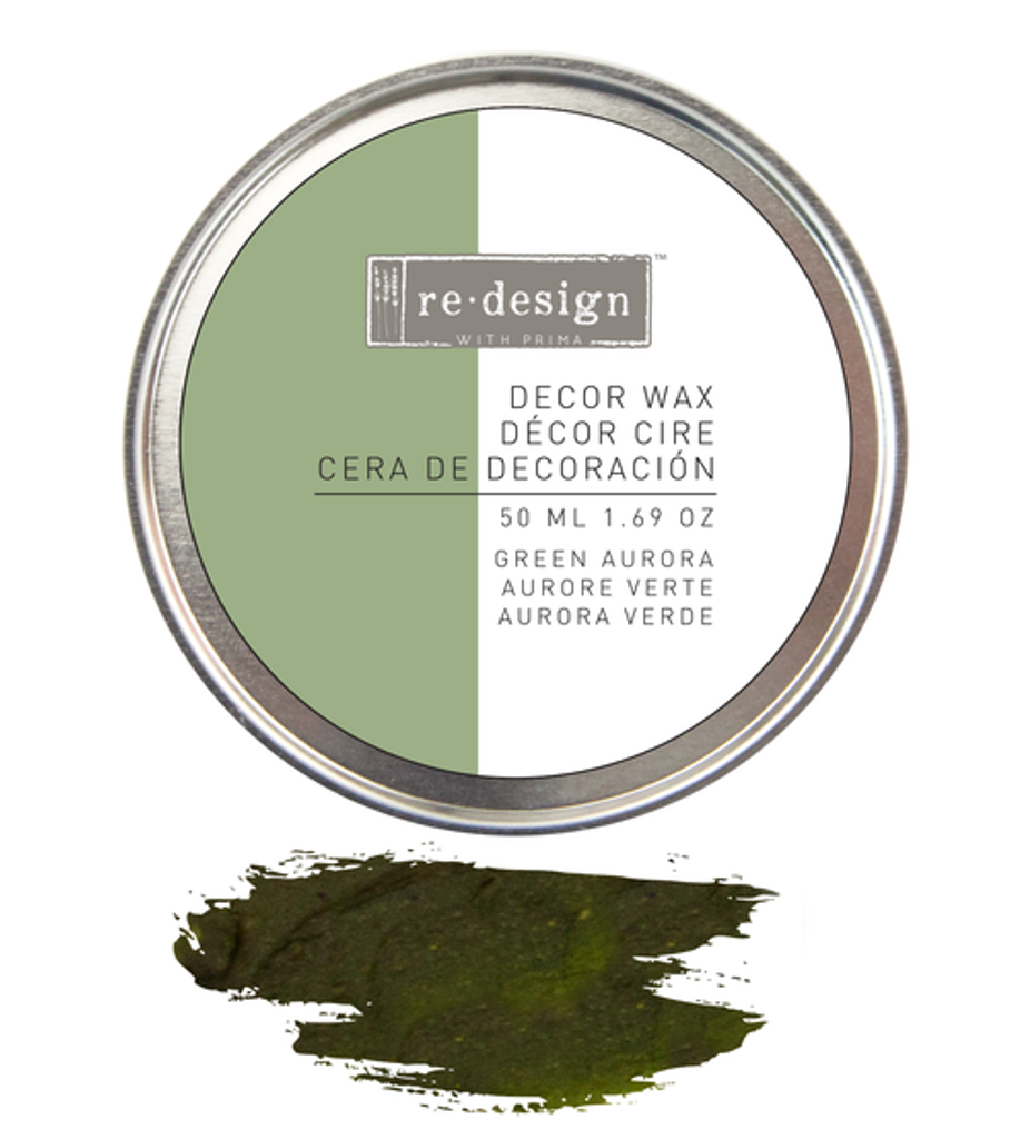 Prima Redesign Wax Paste 50ml - Green Aurora (Olive)