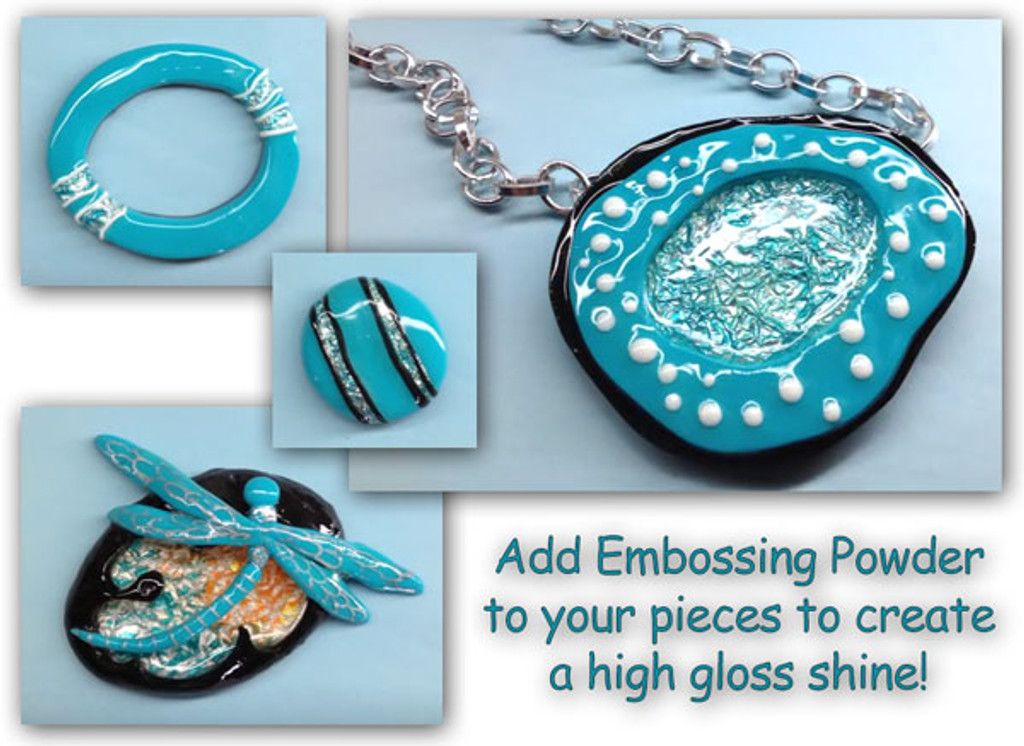 Embossing Polymer Clay Video