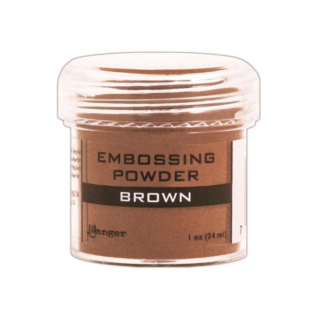 Ranger Brown Embossing Powder