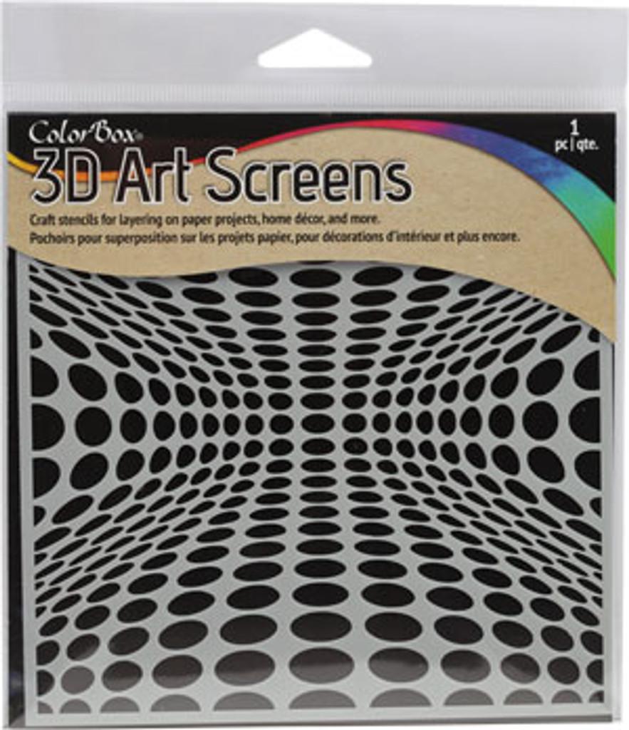 ColorBox® 3D Art Screens - Dimensional Dots