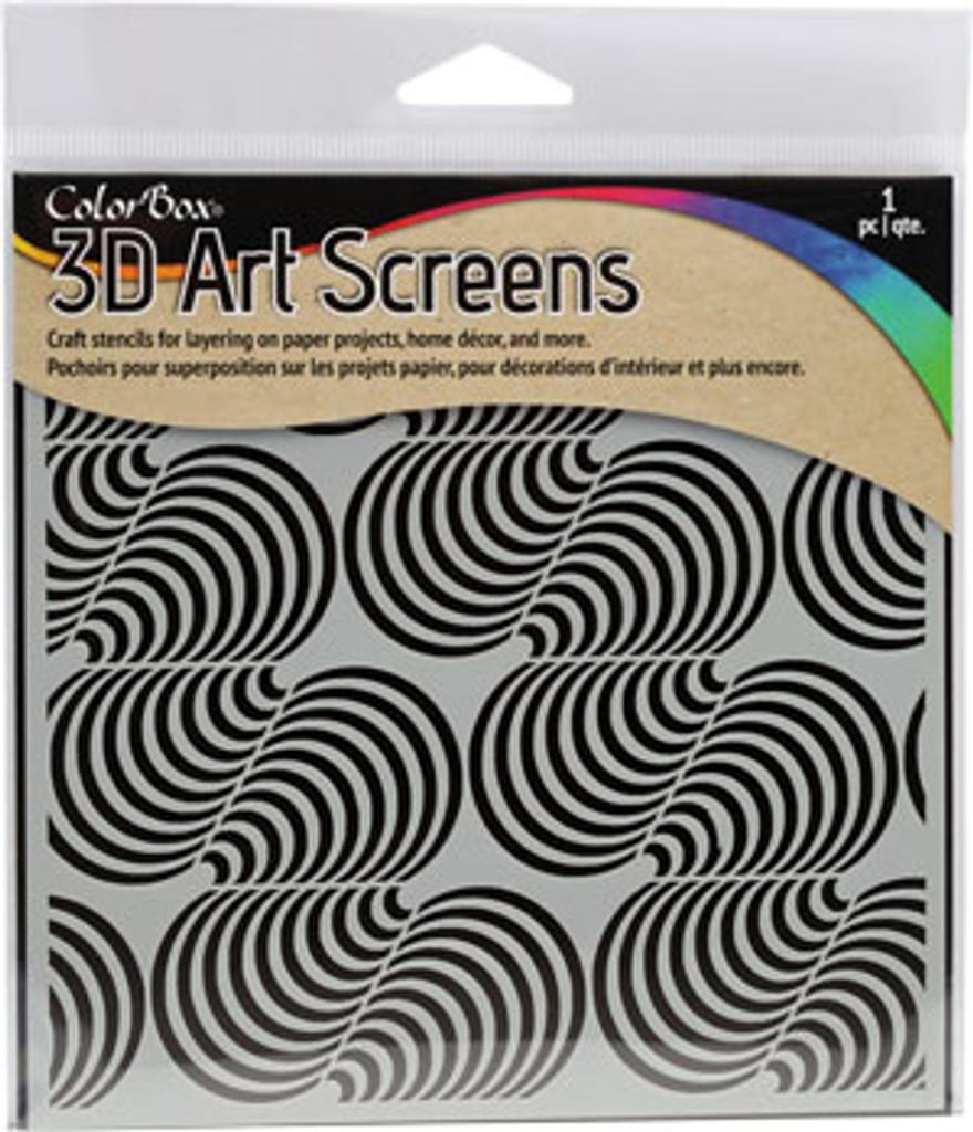 ColorBox® 3D Art Screens - Swirl Cone