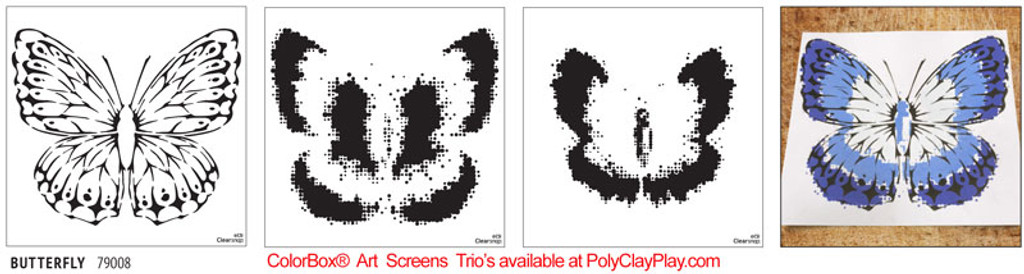 ColorBox® Art Screens Trio - Butterfly