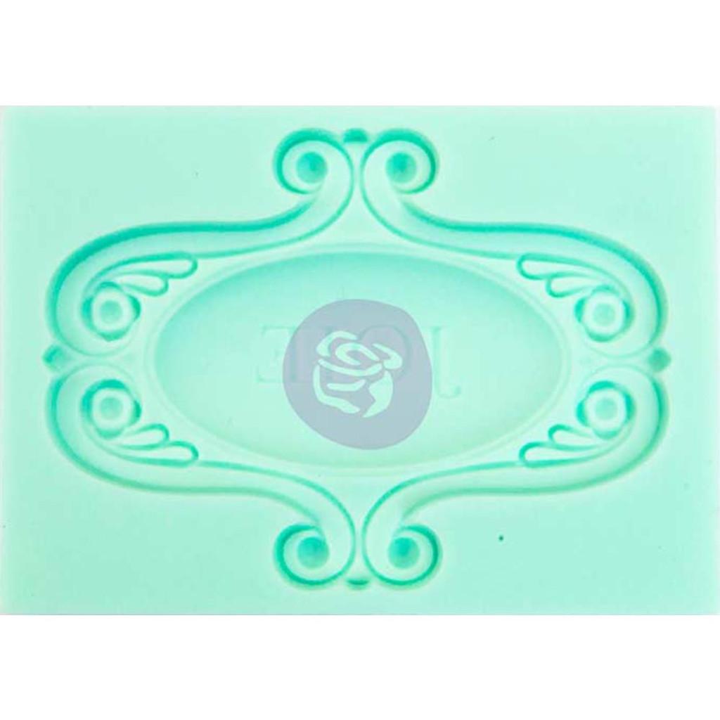 """Joie - Iron Orchid Designs Vintage Art Decor Mould 2.5""""X3.5"""""""