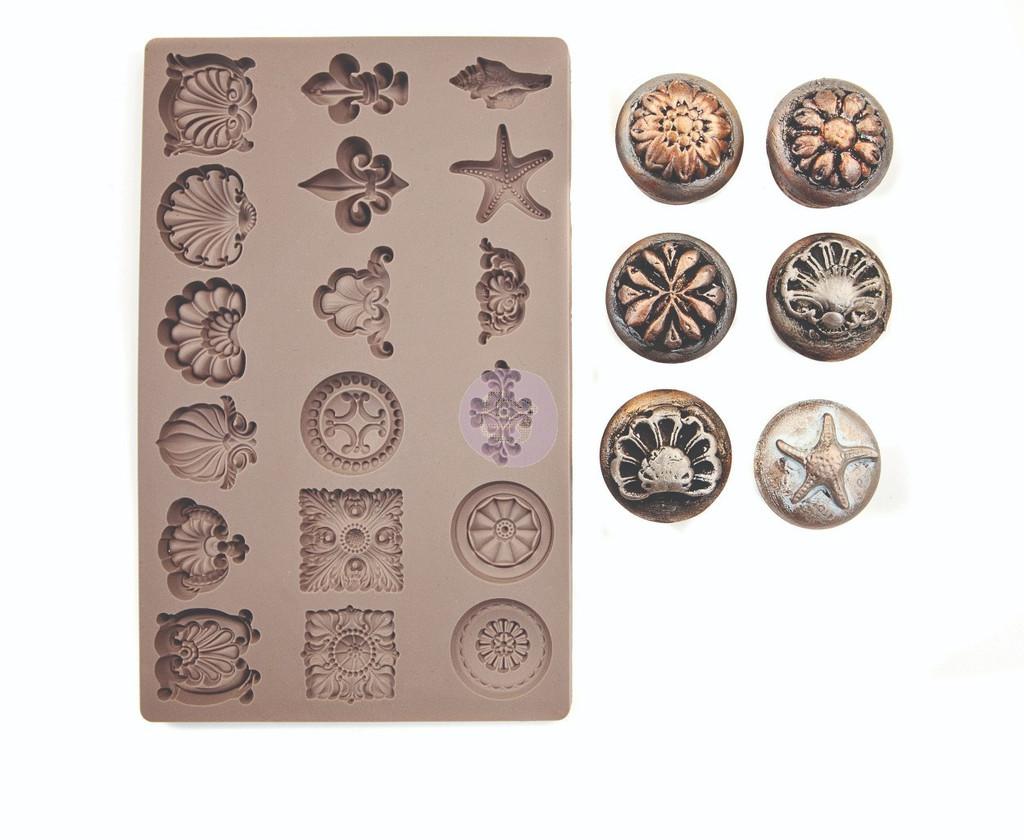 "Seashore Treasures - Redesign Mould 5"" X 8"""