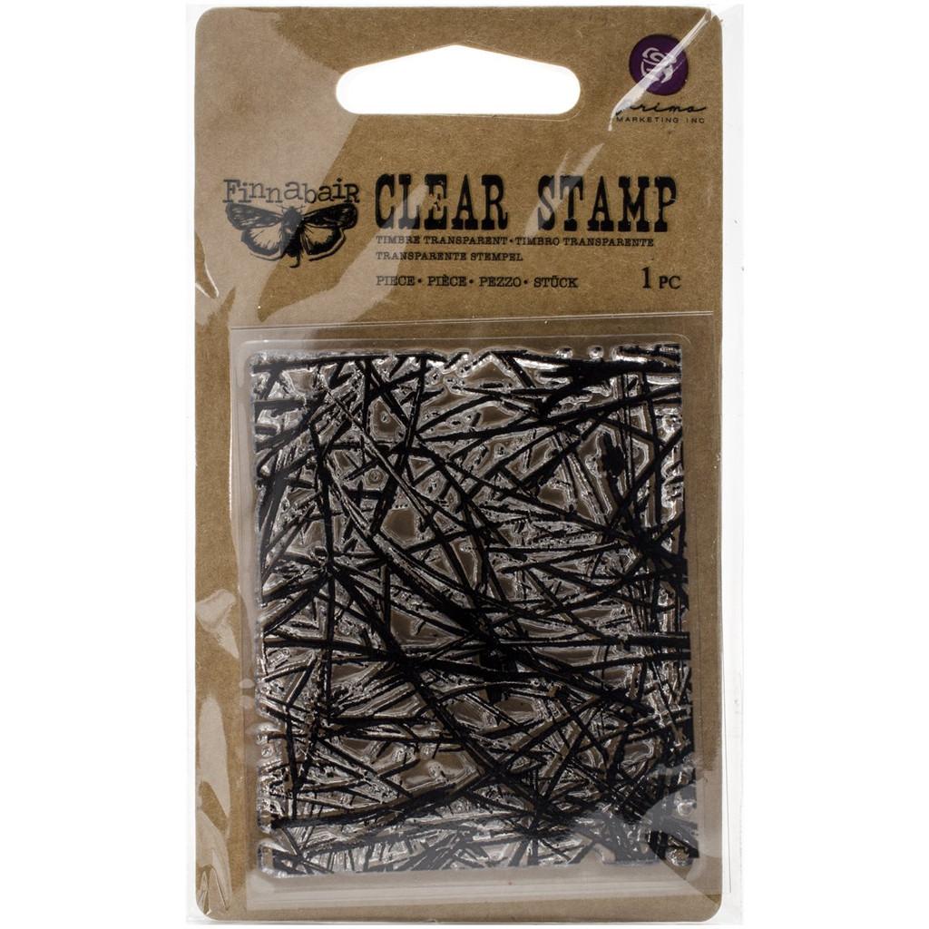 Pines Stamp Finnabair by Prima Marketing 2.5 x 3