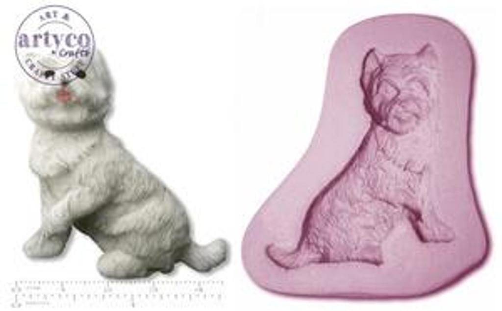 Dog - Westie West Highland Terrier Mold