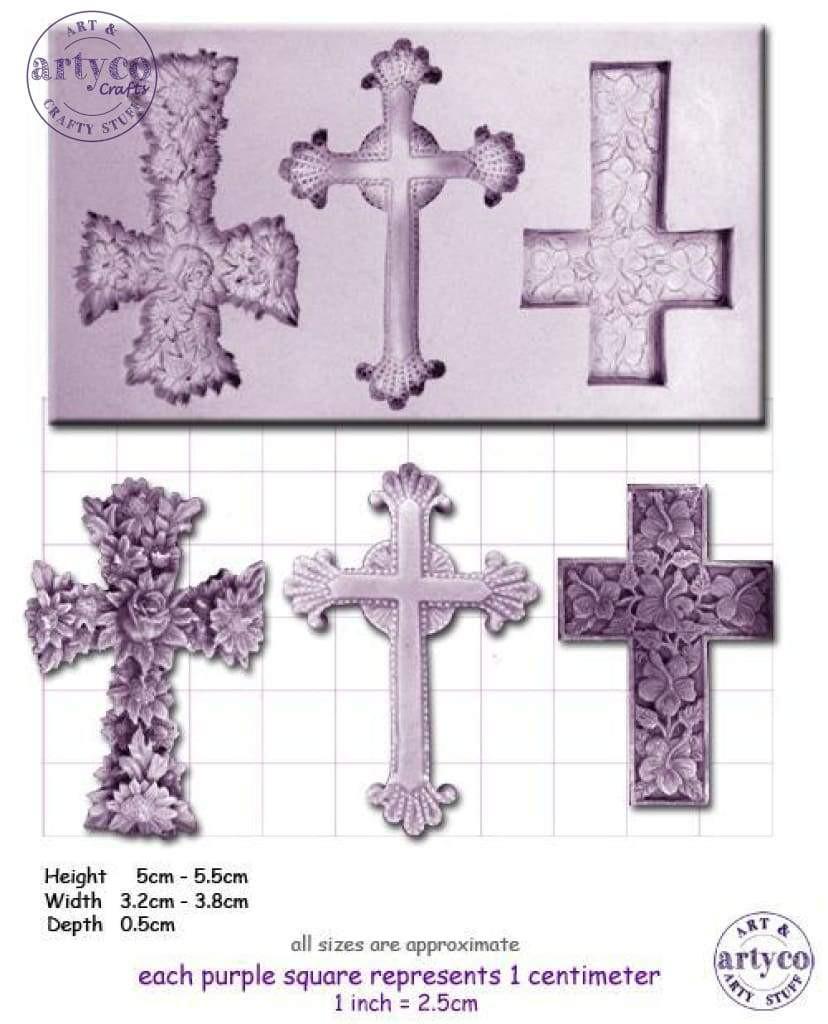 Crosses 3 Mold Set
