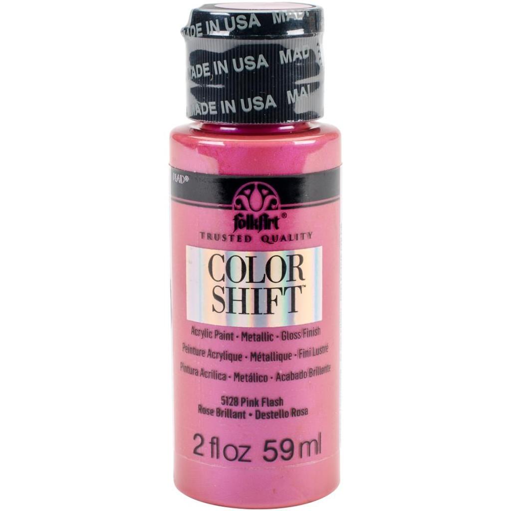 FolkArt Color Shift 2oz Paint - Pink Flash