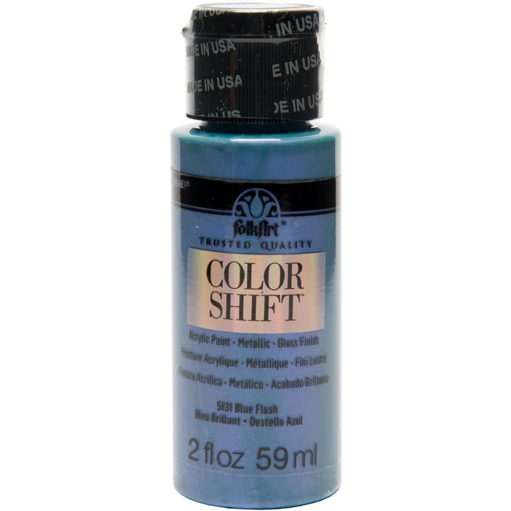 FolkArt Color Shift 2oz Paint - Blue Flash