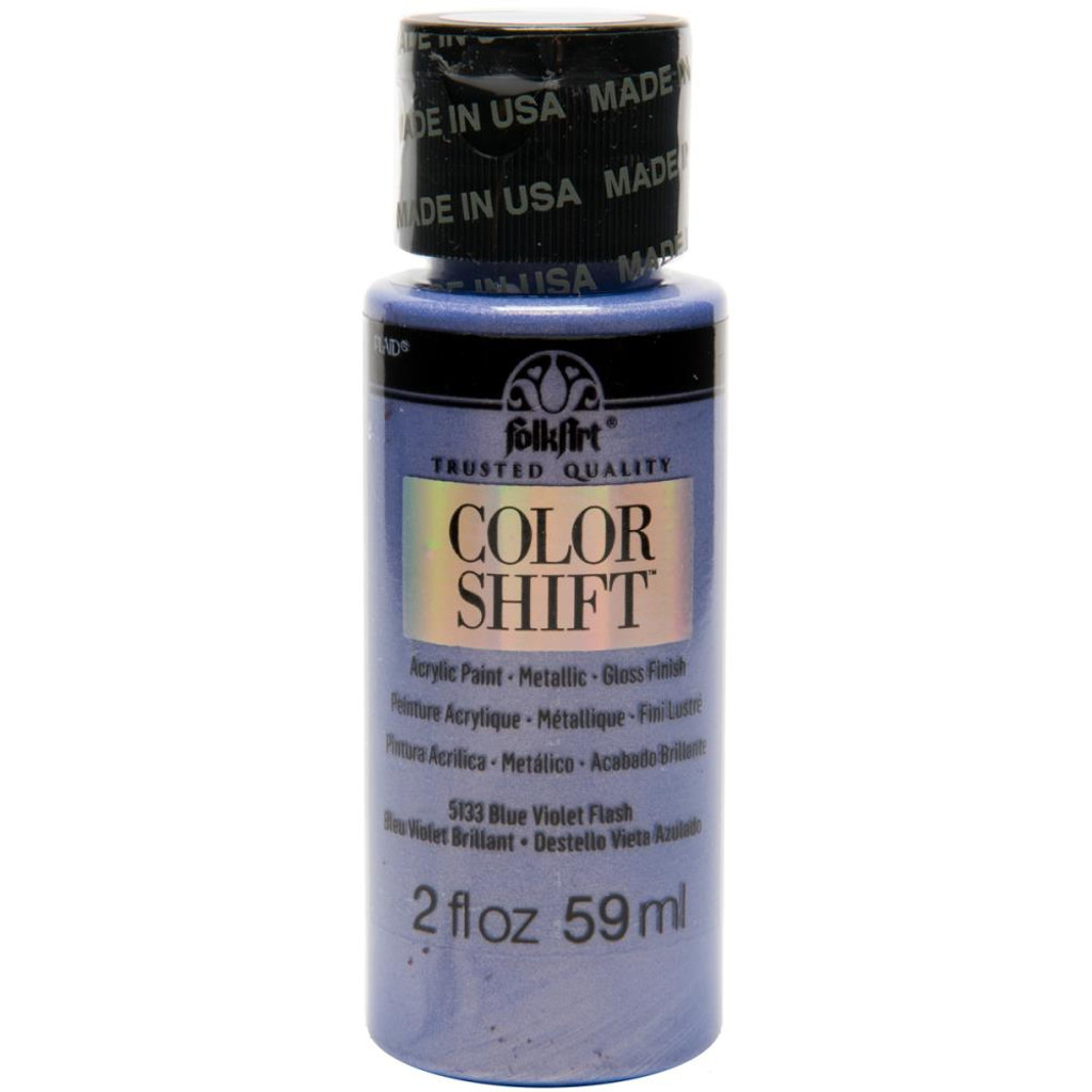 FolkArt Color Shift 2oz Paint -  Blue Violet Flash
