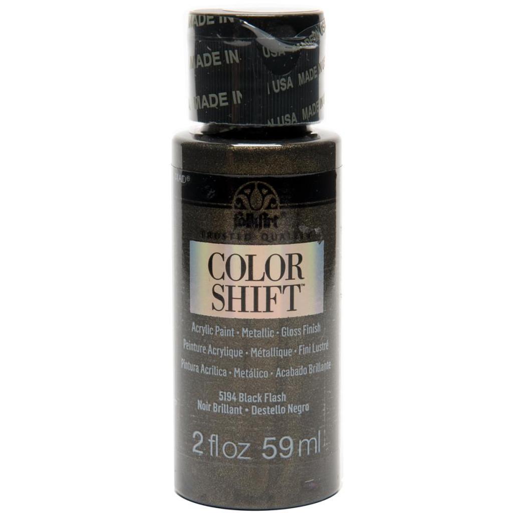 FolkArt Color Shift 2oz Paint - Black Flash