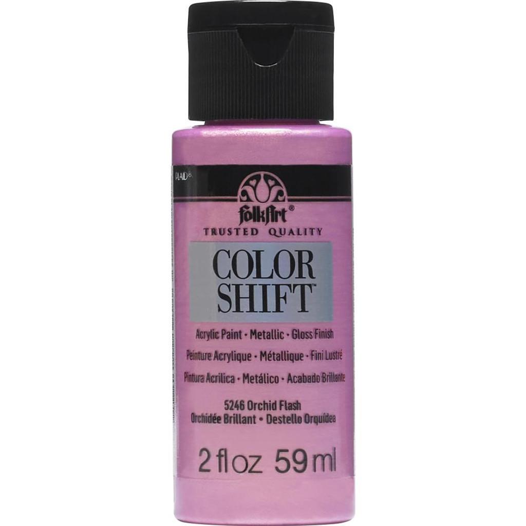 FolkArt Color Shift 2oz Paint - Orchid Flash