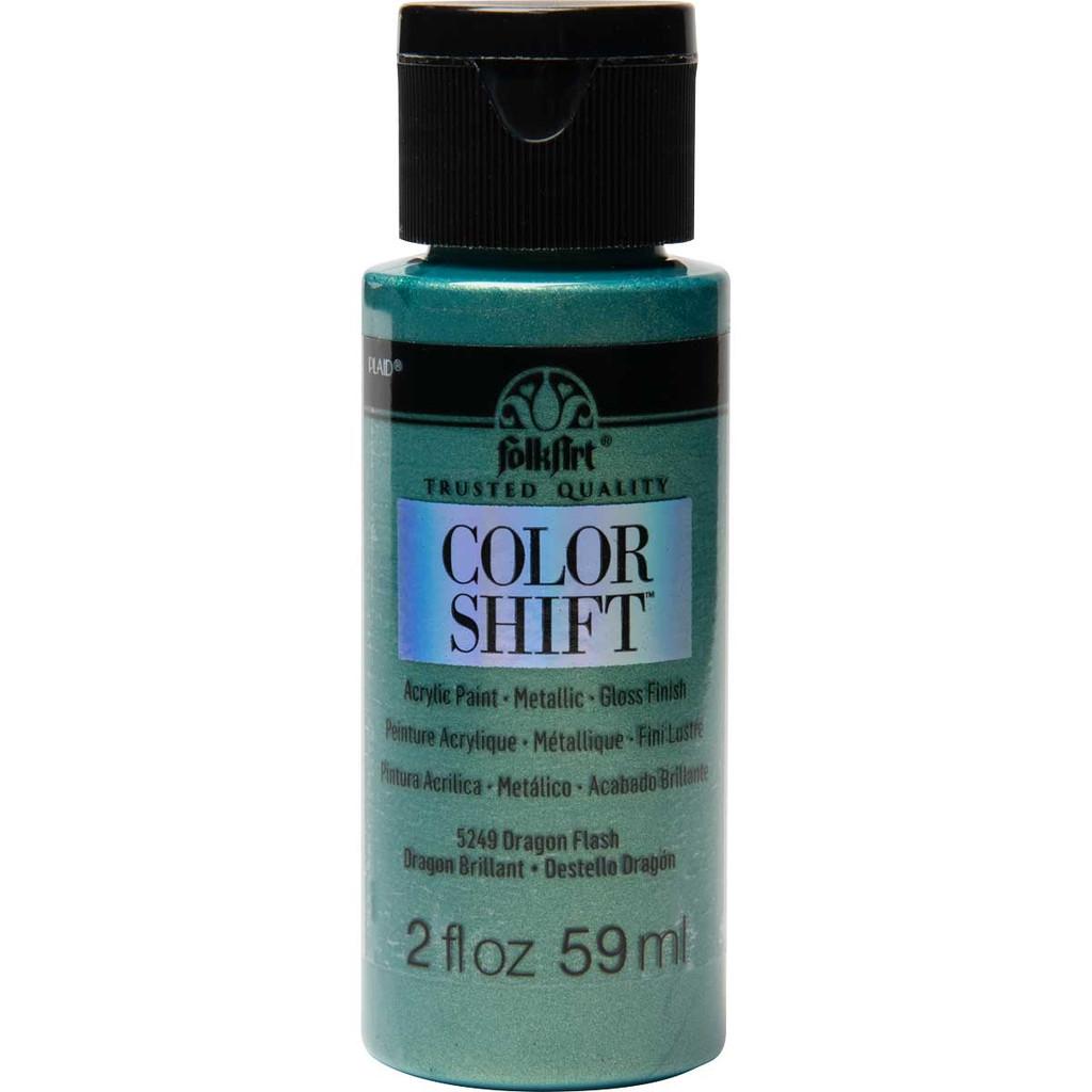FolkArt Color Shift 2oz Paint - Dragon Flash