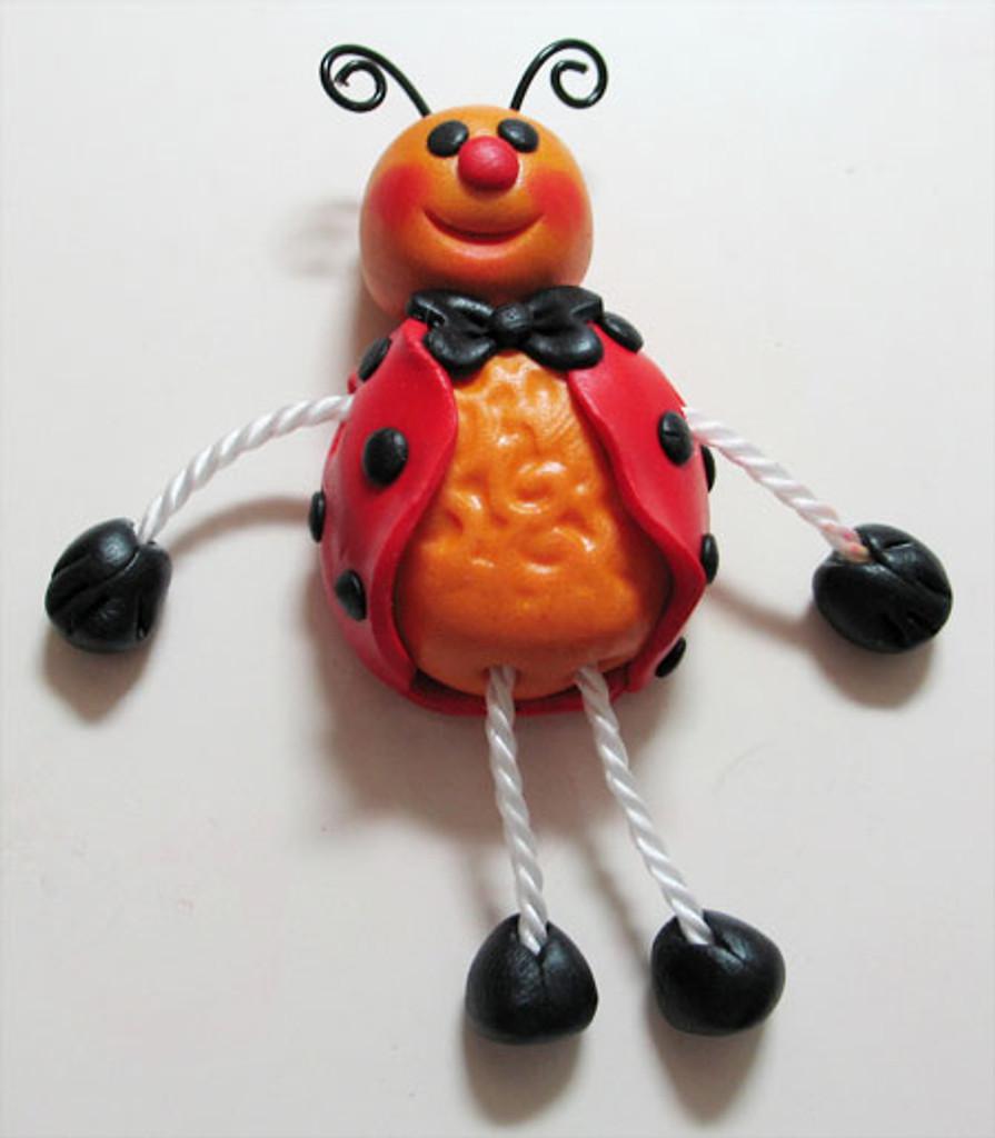 Poly Puppets - Ladybug
