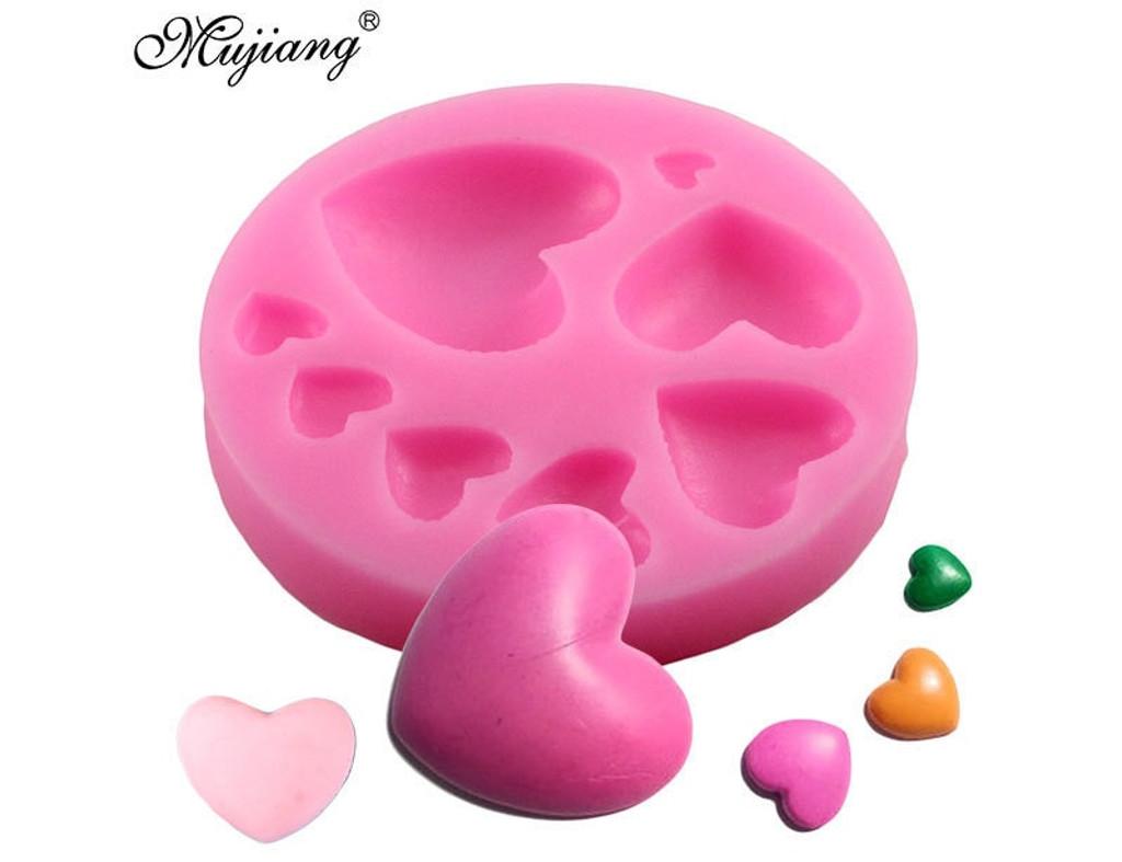 Heart Mold - 8 sizes