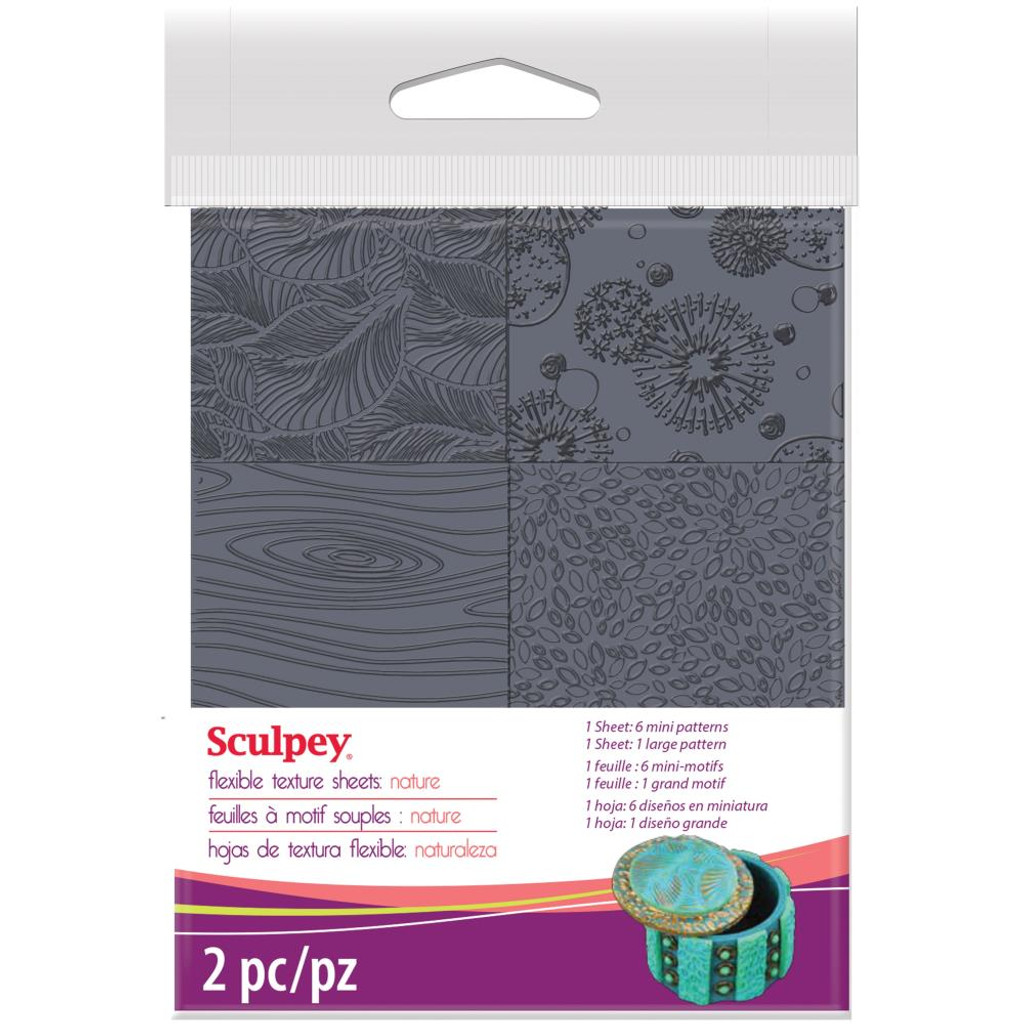 Sculpey Texture Sheet - Nature