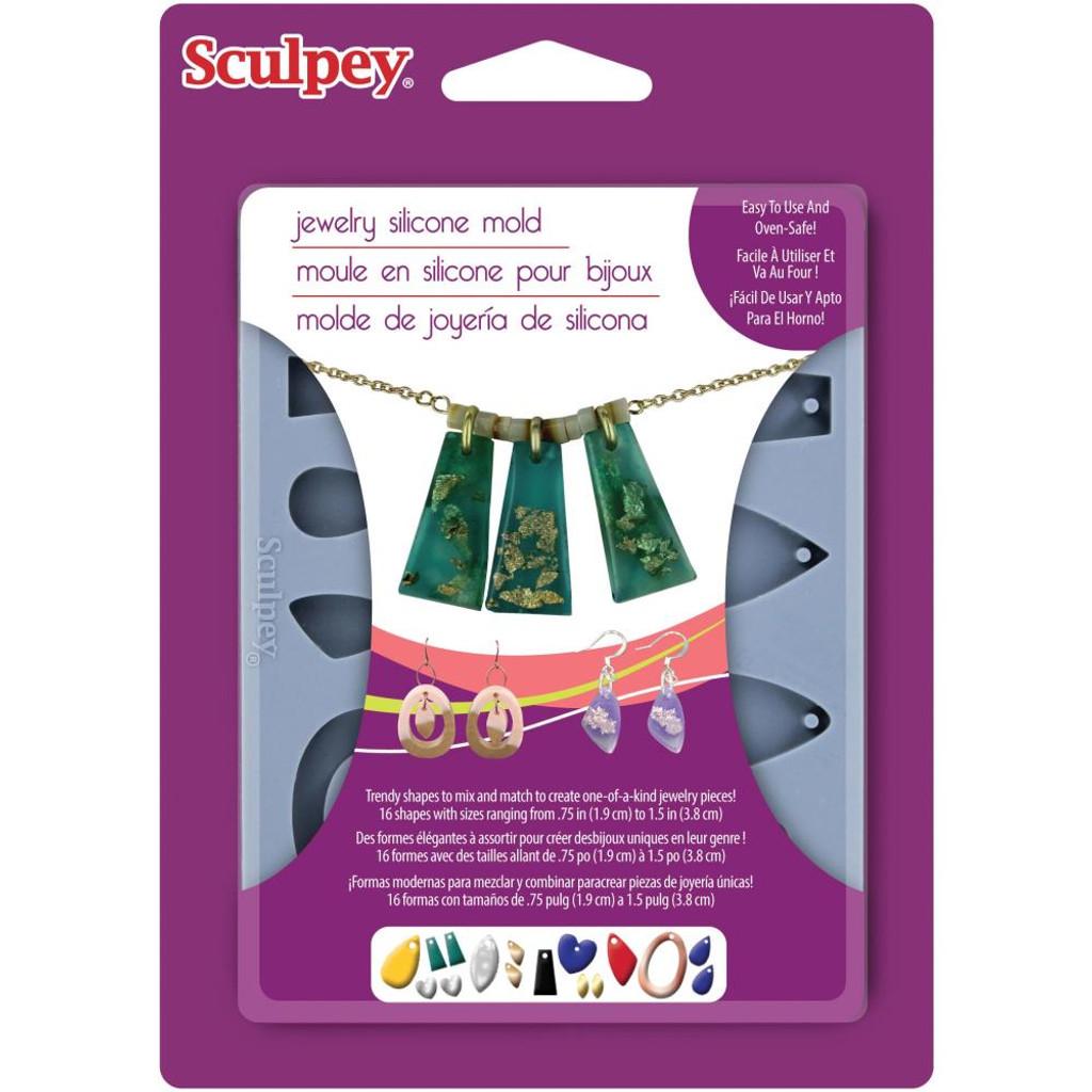 Sculpey Mold - Jewelry
