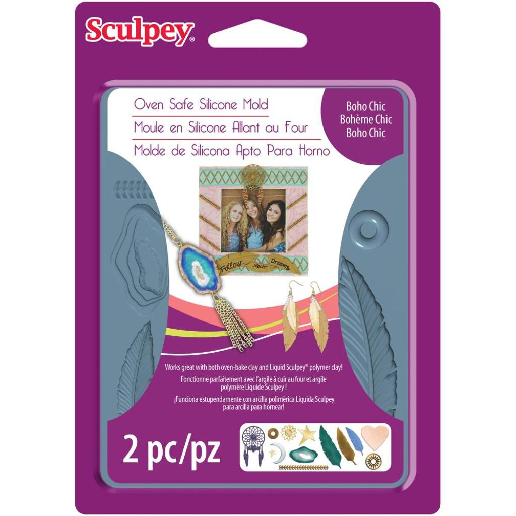 Sculpey Mold - Boho Chic