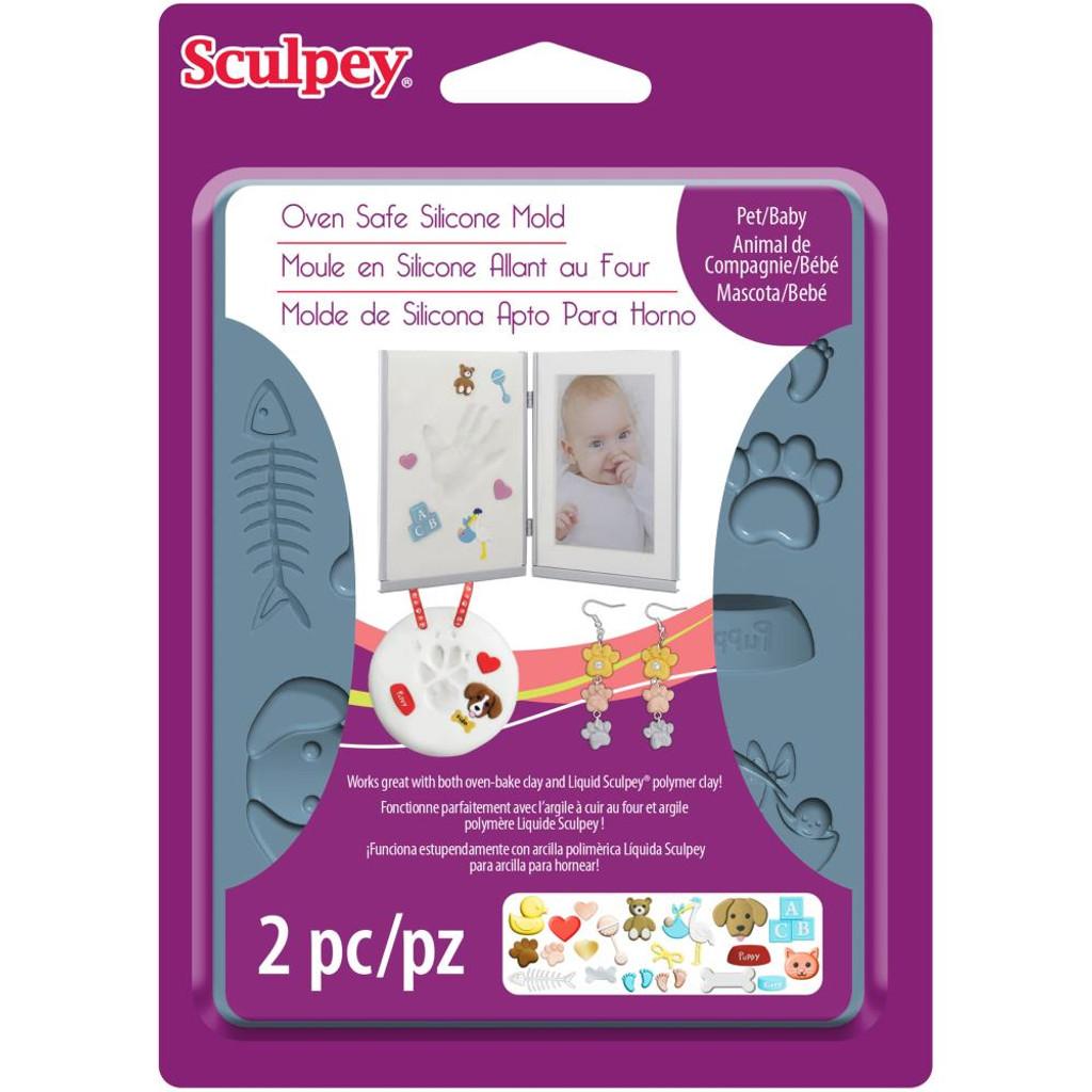 Sculpey Mold - Pet/Baby