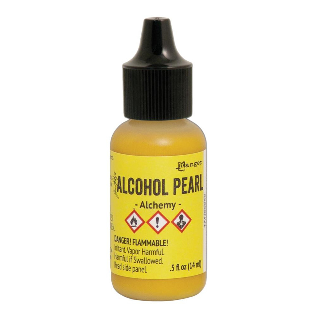 Alcohol Inks Tim Holtz Pearls - Alchemy