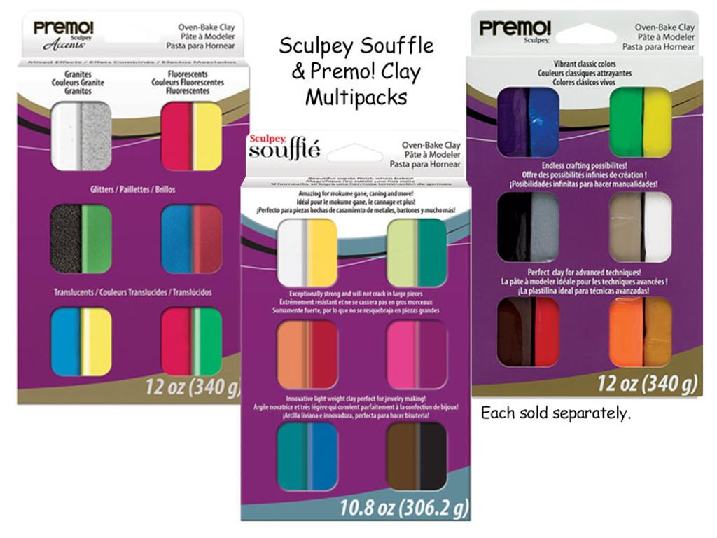 Sculpey and Premo! Clay Samplers Multipacks