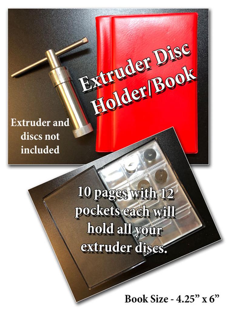 Extruder Disc Holder/Book