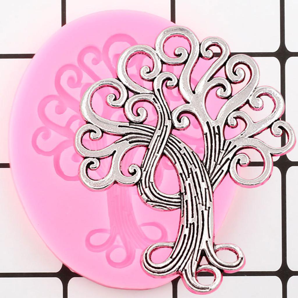 Swirly Tree Mold
