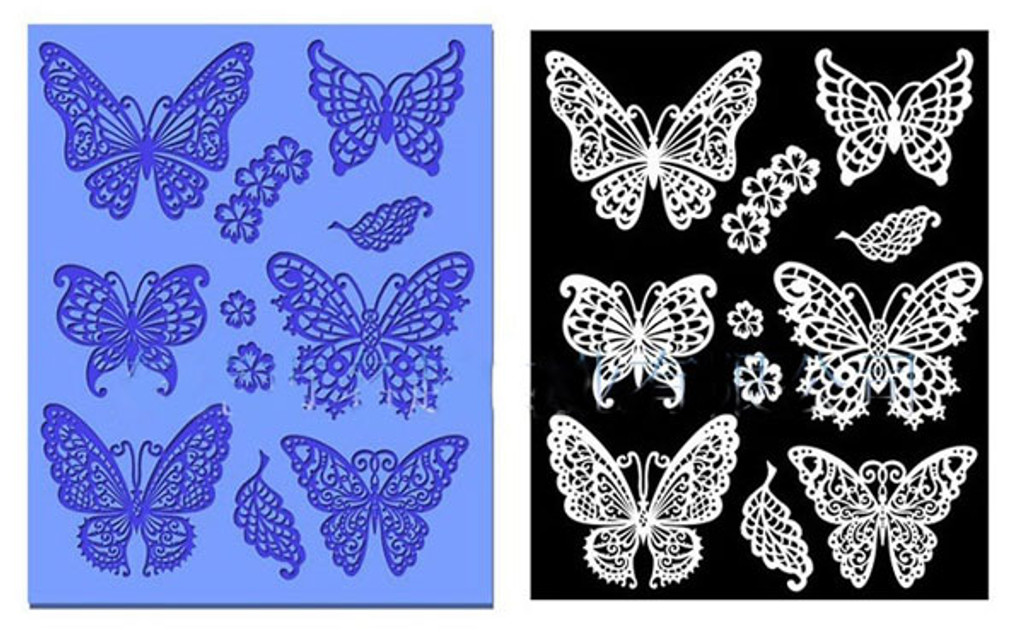 Butterfly Delicate Lace Mold