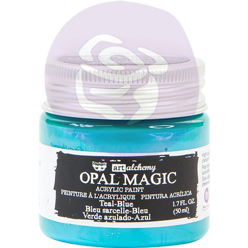 Finnabair Art Alchemy Acrylic Paint - Opal Magic Teal/Blue