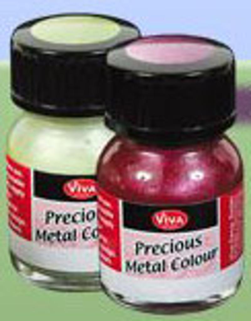 Precious Metal Colour Varnish - Blue Azure