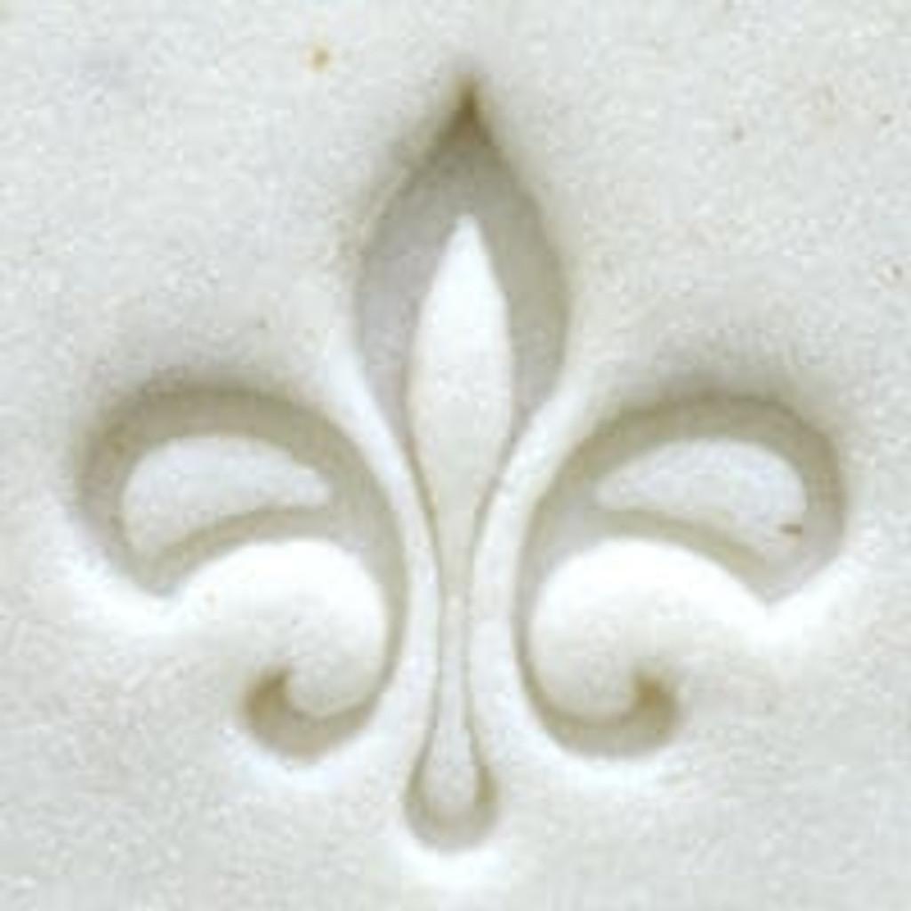 Fleur-de-lis Outline Stamp