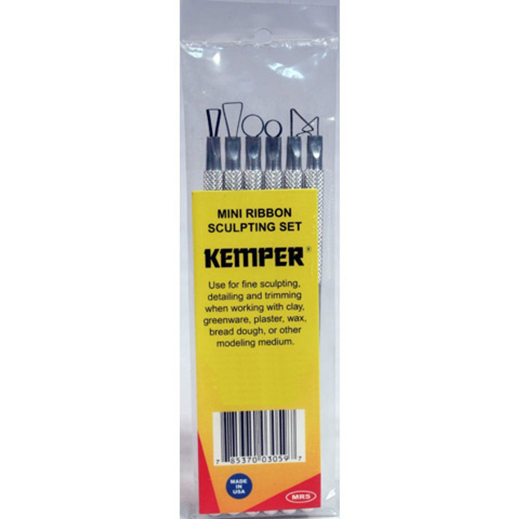 Kemper Tools® Mini Ribbon Sculpting Tool Set - 6 Pieces
