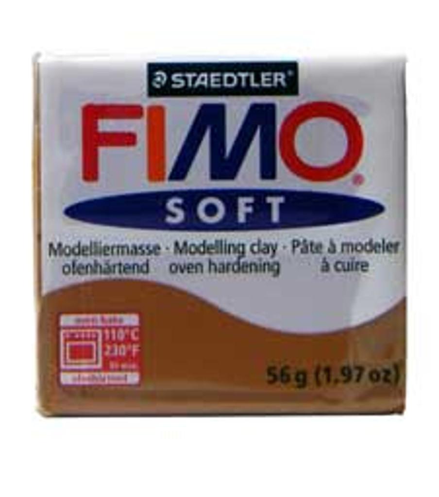 Fimo Soft Polymer Clay - Caramel