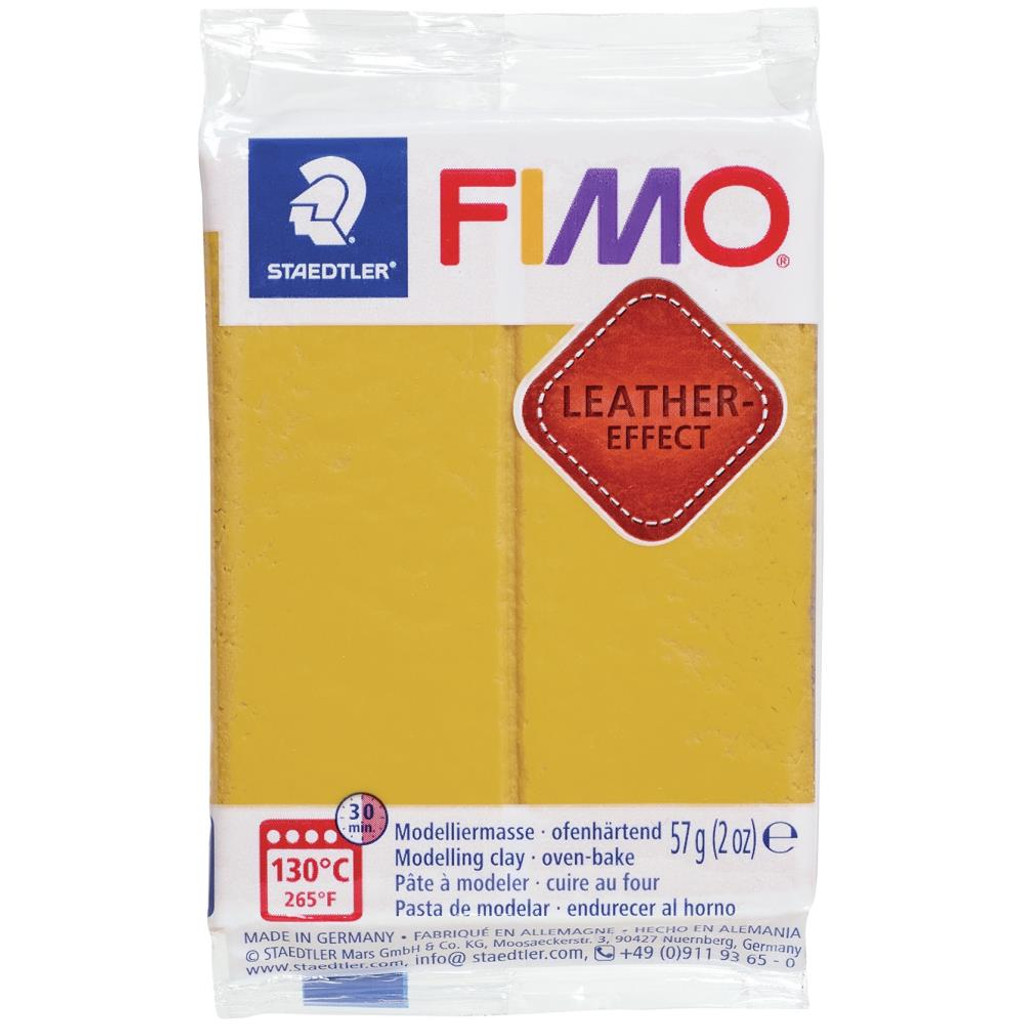 Fimo Leather Effect - Ochre