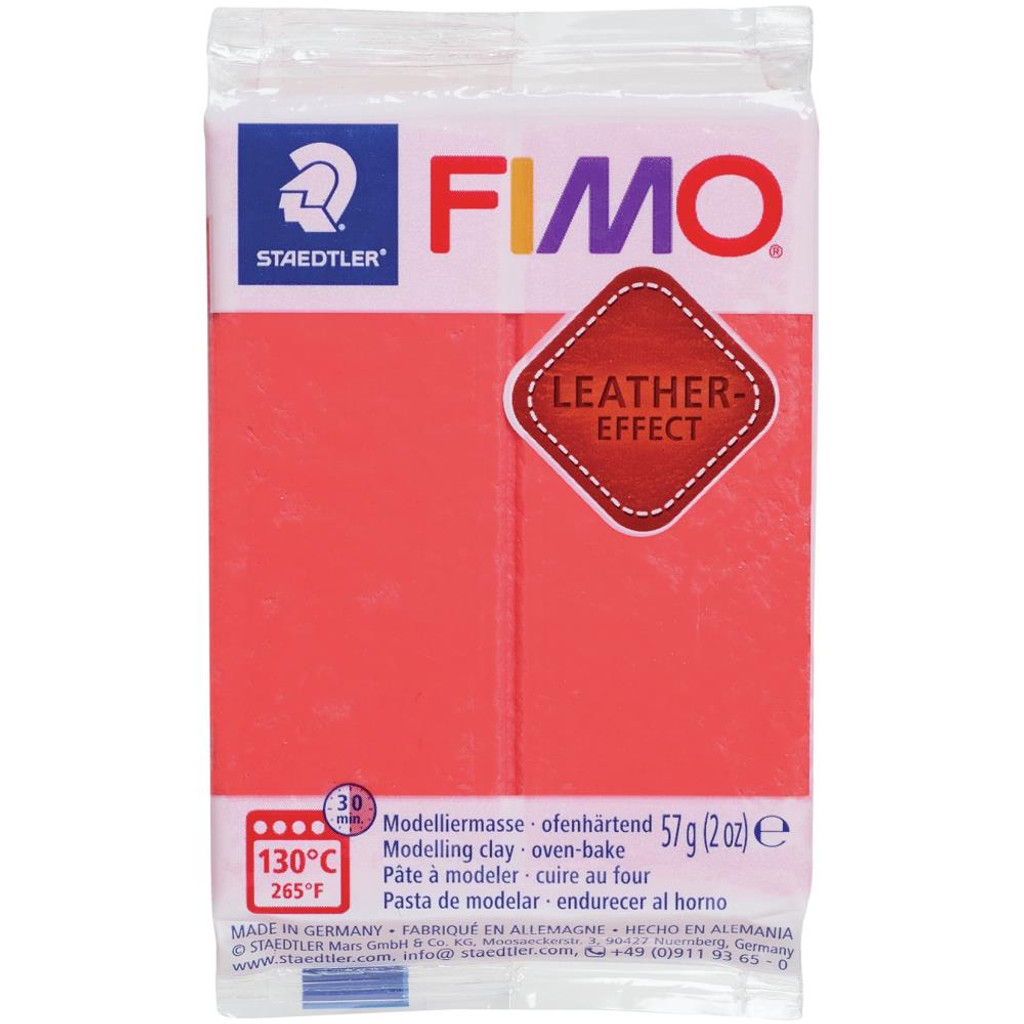 Fimo Leather Effect - Watermelon