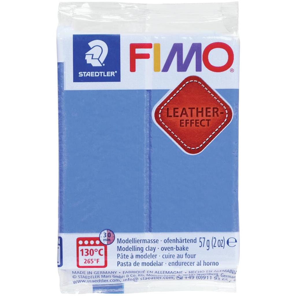Fimo Leather Effect - Indigo Blue