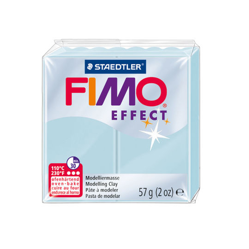 Fimo Effect Blue Ice Quartz
