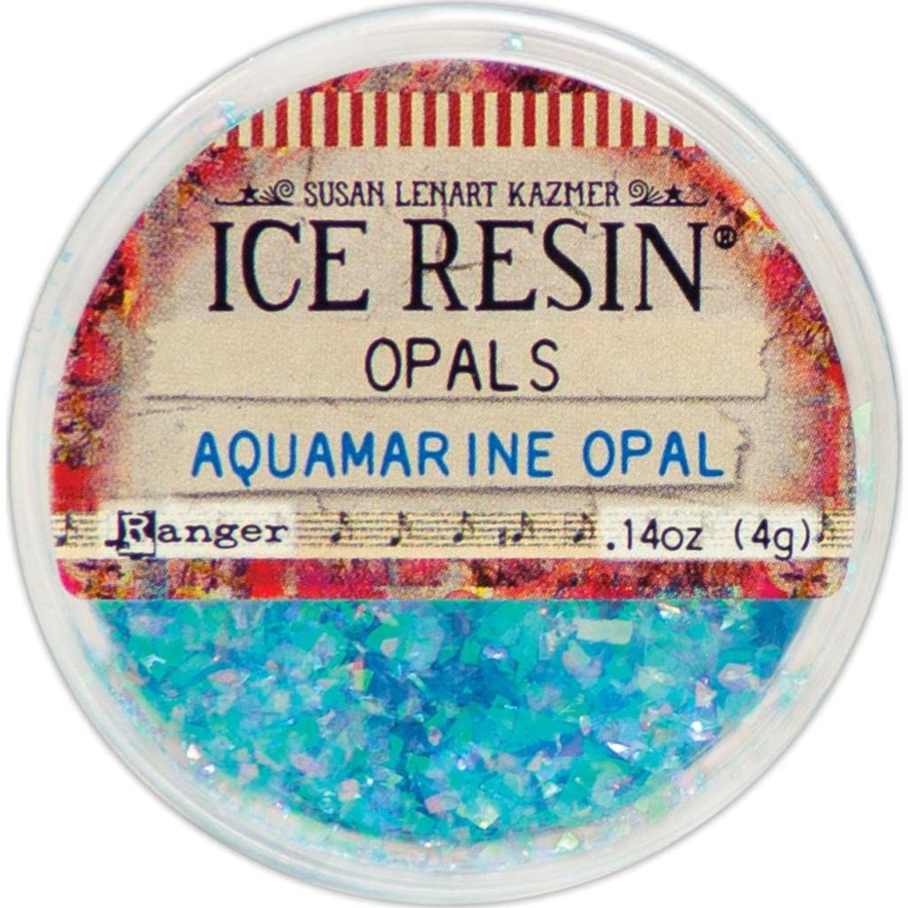 Ice Resin Opals - Aquamarine