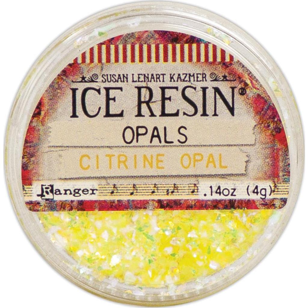 Ice Resin Opals - Citrine