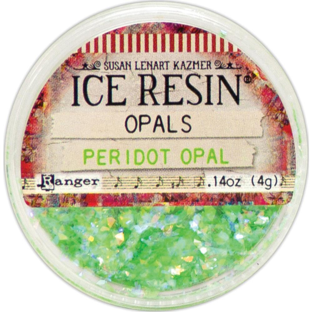 Ice Resin Opals - Peridot