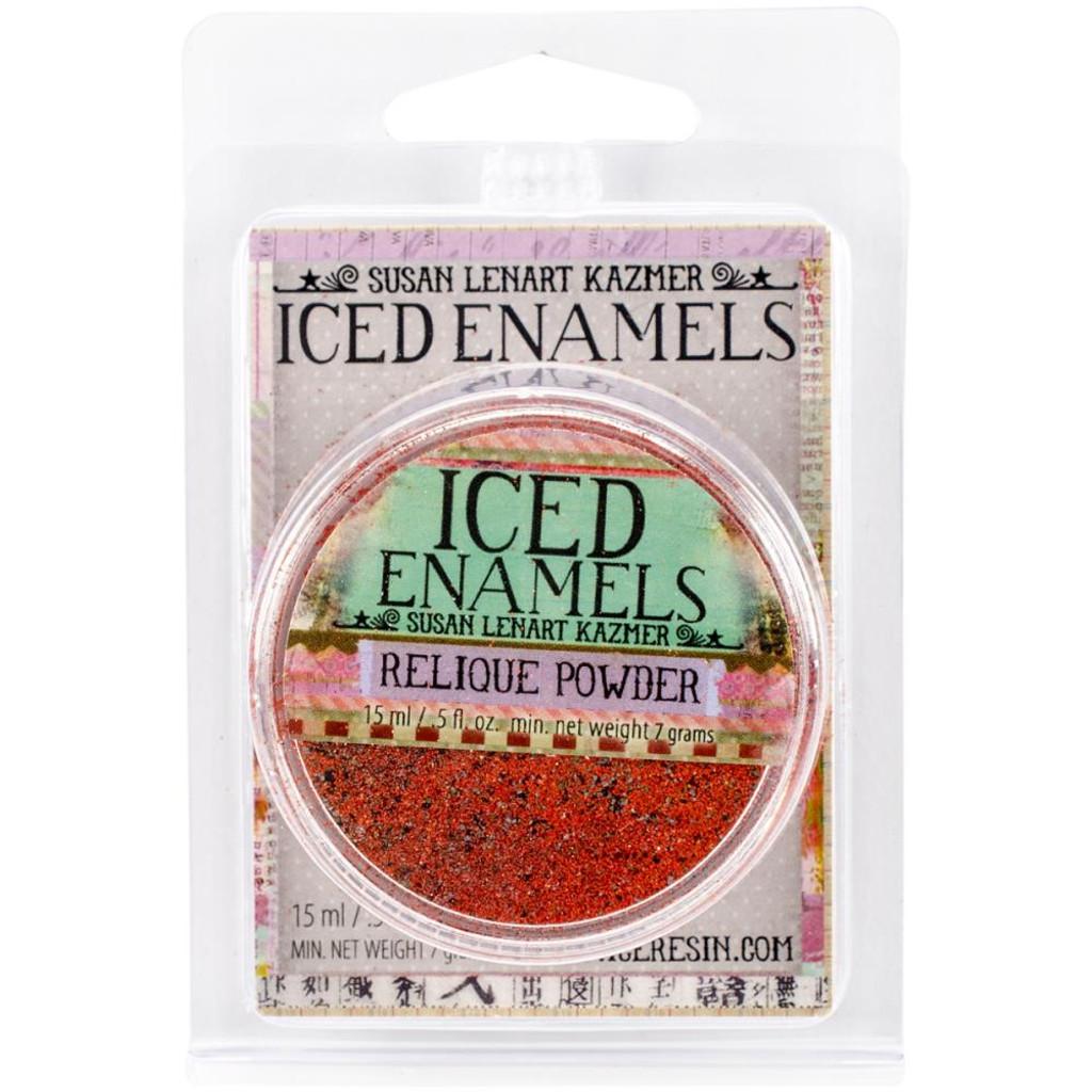 Iced Enamels Relique Powder Cold Enameling Carnelian