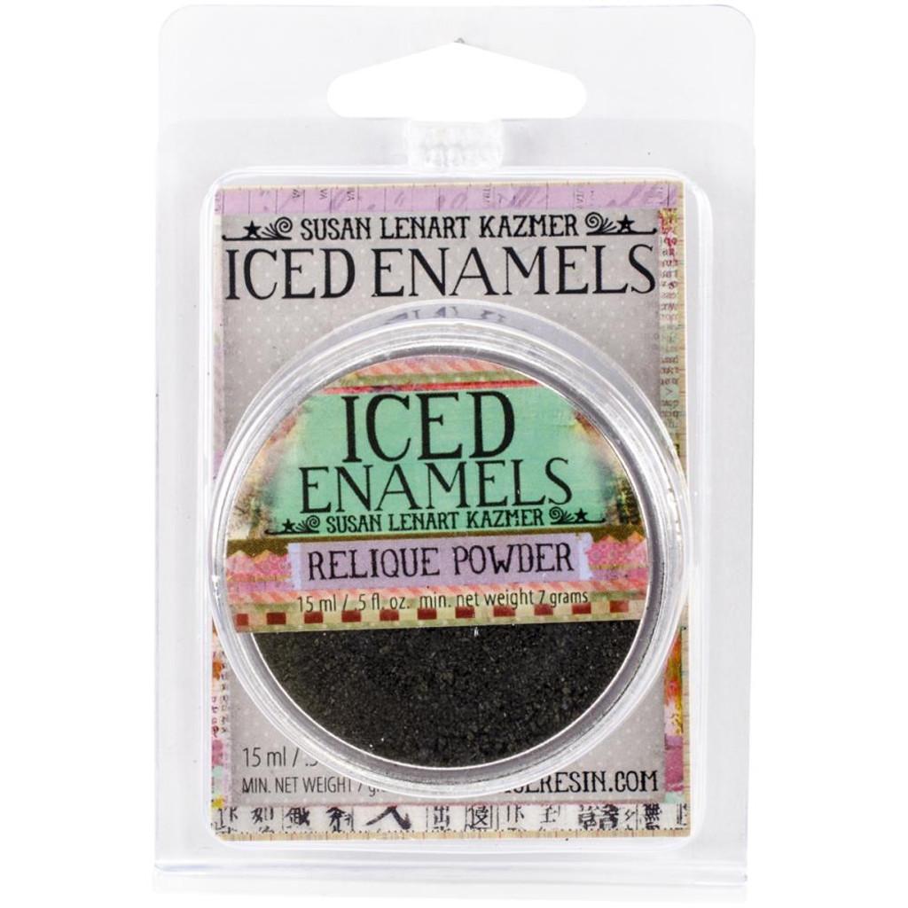 Iced Enamels Relique Powder Cold Enameling Tarnished Bronze