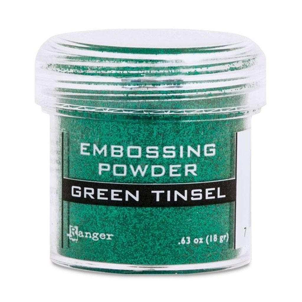 Ranger Green Tinsel Embossing Powder