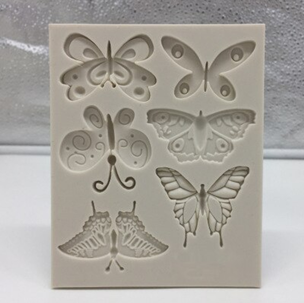 Butterfly Mold 6 Designs