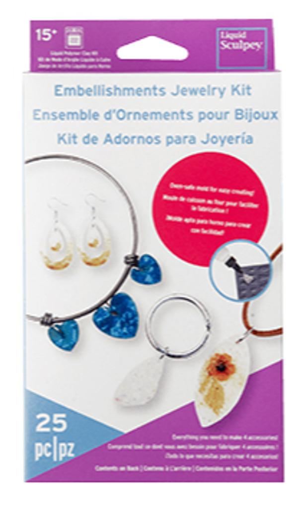 Sculpey Liquid Embellishment Jewelry Kit