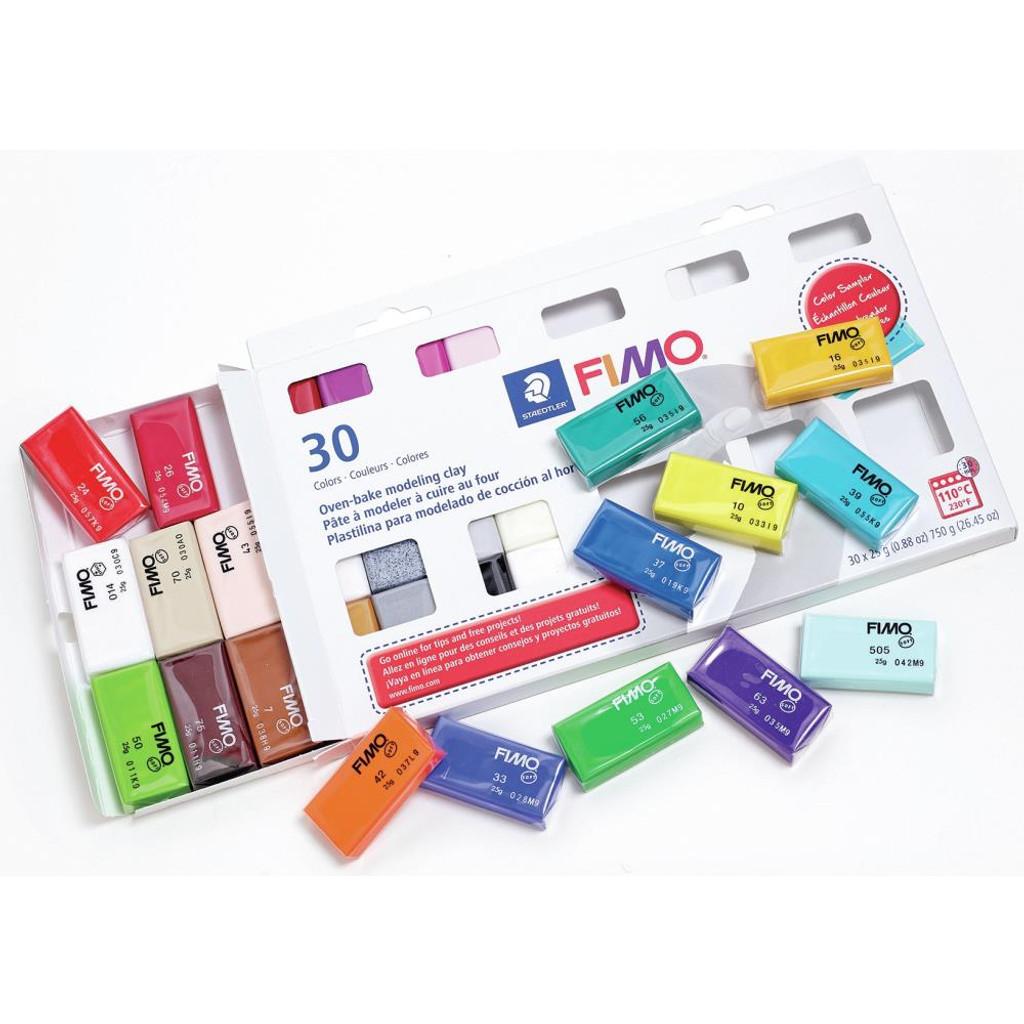 Fimo Sampler Multi Pack Kit of 30 Colors