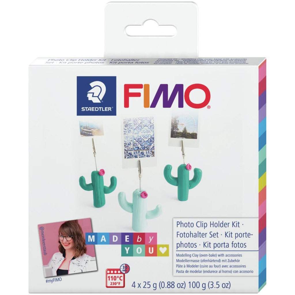 Fimo Made By You Kit - Photo Clip Holder Kit