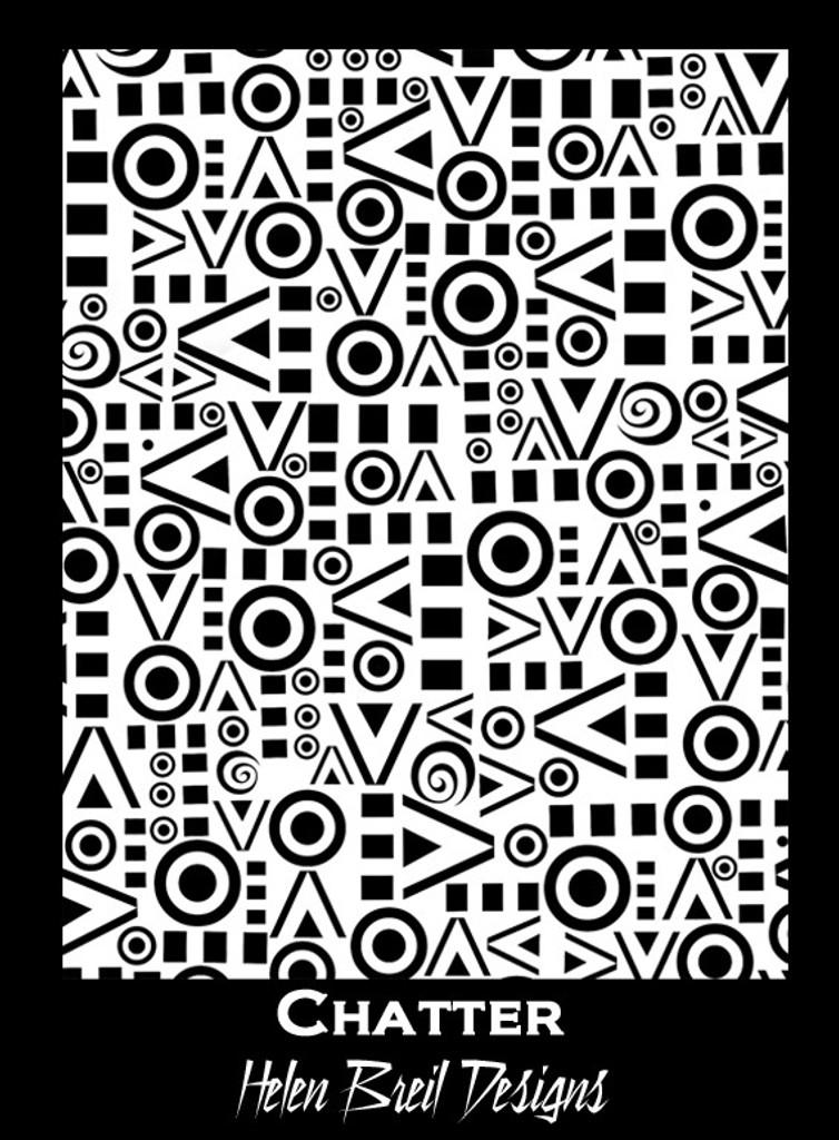 Helen Breil Silk Screens - Chatter