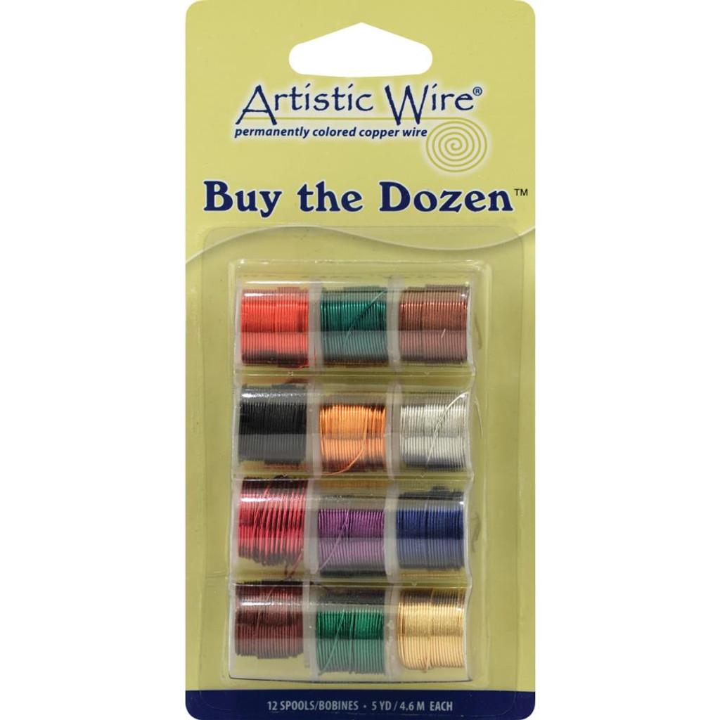 Artistic Wire Buy-The-Dozen 5yd 12/Pkg 26 ga.